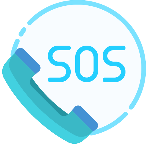 Icon png transparent SOS