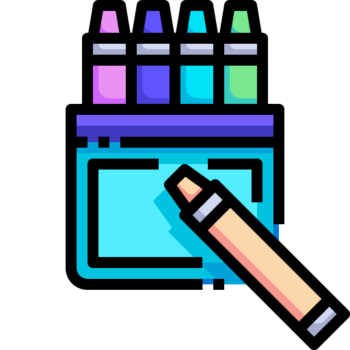 Icon png transparent Crayon