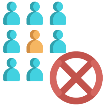 Icon png transparent Do not rally