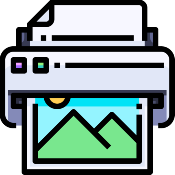 Icon png transparent Printer