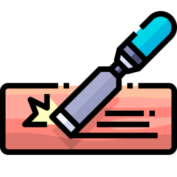 Icon png transparent Chisel
