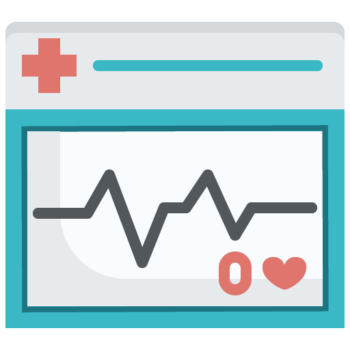 Icon png transparent Heart rate monitor
