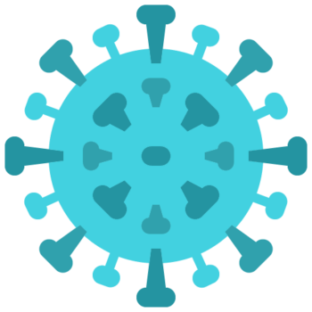 Icon png transparent Virus