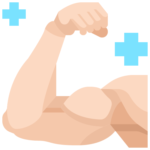 Icon png transparent Muscle