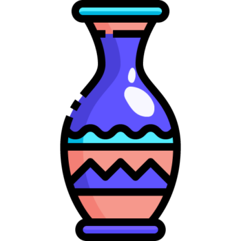 Icon png transparent Vase