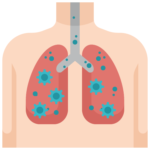 Icon png transparent Lung
