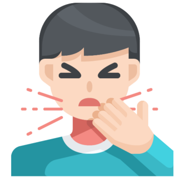 Icon png transparent Cough