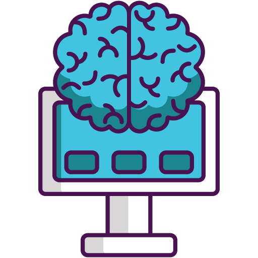 Icon png transparent Brain Machine Interface