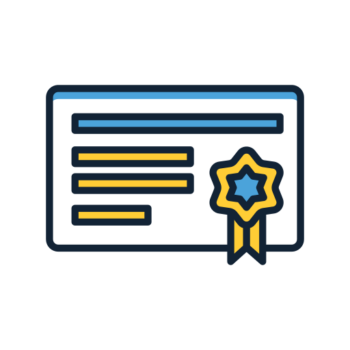 Icon png transparent CERTIFICATE