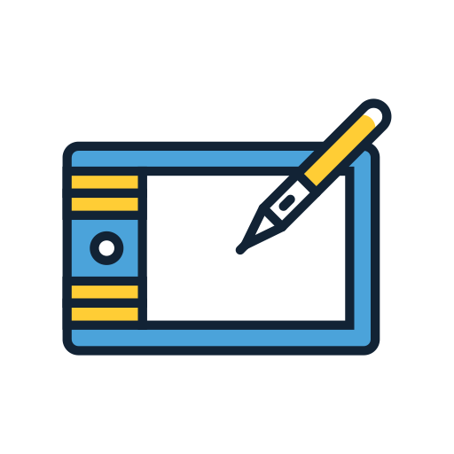 Icon png transparent DRAWING TABLET