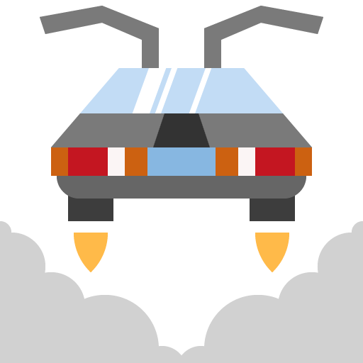 Icon png transparent car transport future fly flying technology mechanic