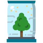 Icon png transparent tree growth plant future technology eco