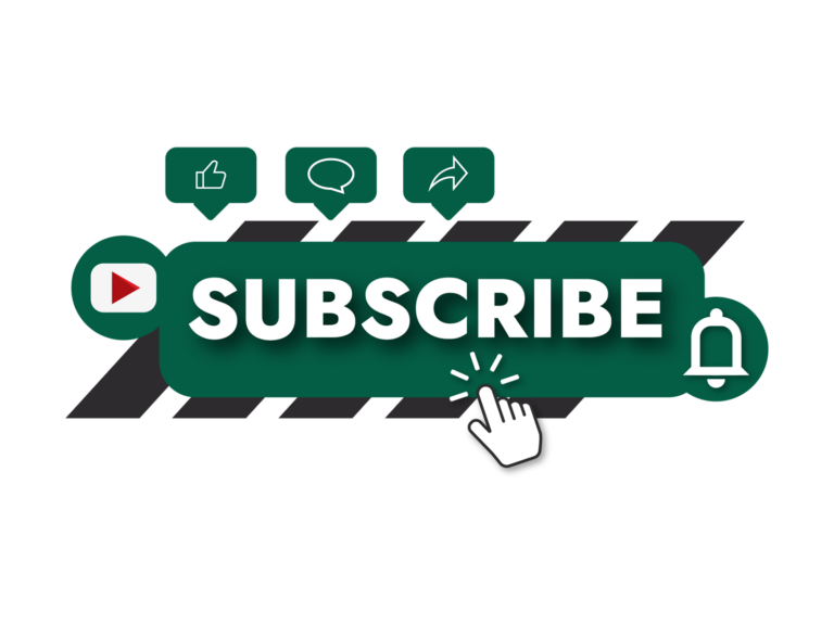 Transparent YouTube subscribe button png free download