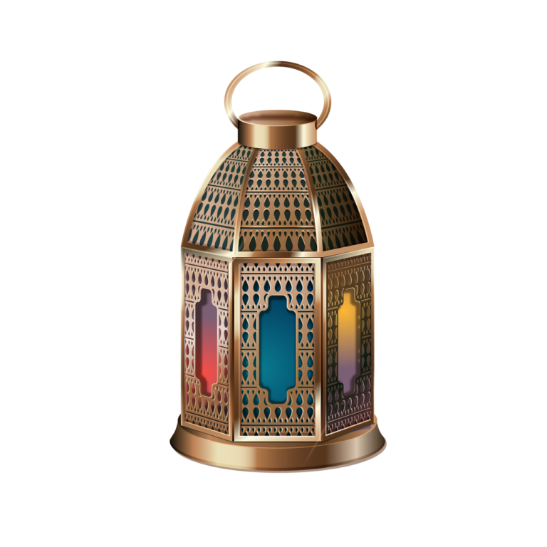 D looking with Golden color Lantern png images