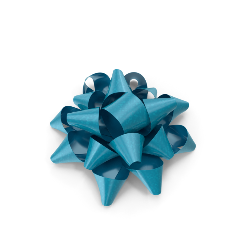 Blue Bow Png image art
