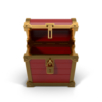 Chest Red png image