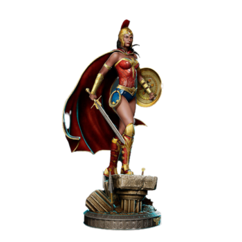 Colorfull wonder woman d model png image