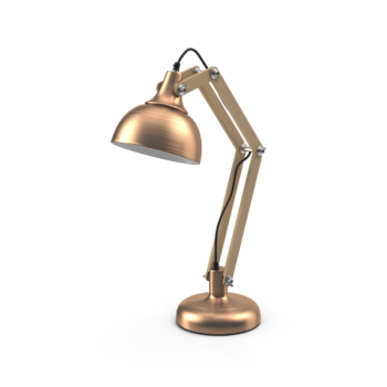 Copper Table Lamp png image