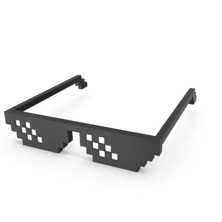 Deal With It Glasses png image