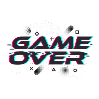 Game over Minecraft circle generator pixel circle free png image download