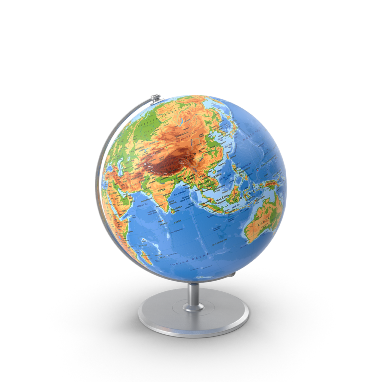 Globe On Stand png image