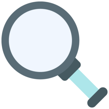 MAGNIFYING GLASSES Aesthetic icon png