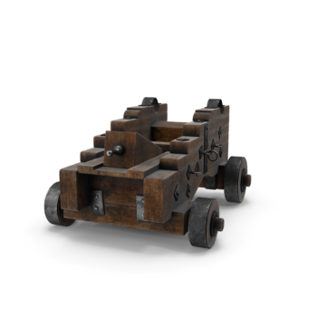 Medieval Gun Carriage png transparent pistol images