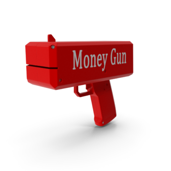 Money Gun png transparent pistol images