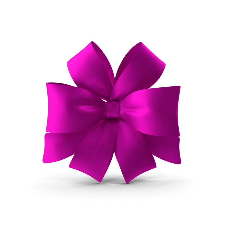 Pink Bow Standing Up Png images
