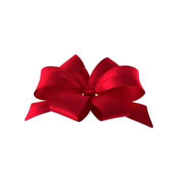 Red Bow Standing Up Png images art