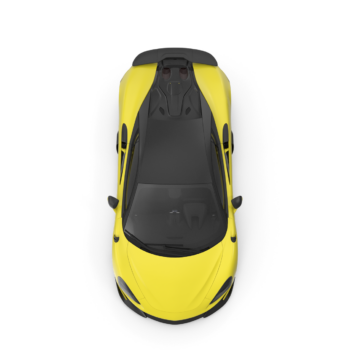 Sports Car Yellow png image