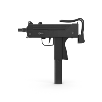 Submachine Gun I png transparent pistol images
