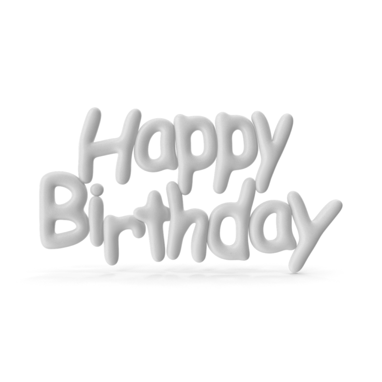 Symbol White Happy Birthday png images