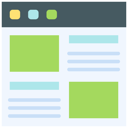 WEBSITE Aesthetic icon png