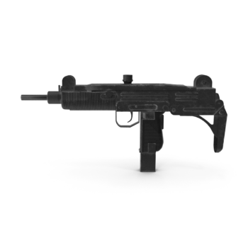 Worn Submachine Gun png transparent pistol images