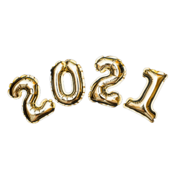 Golden Numbers From New Years Balls Of Y