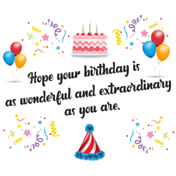 Birthday message for a friend png image download