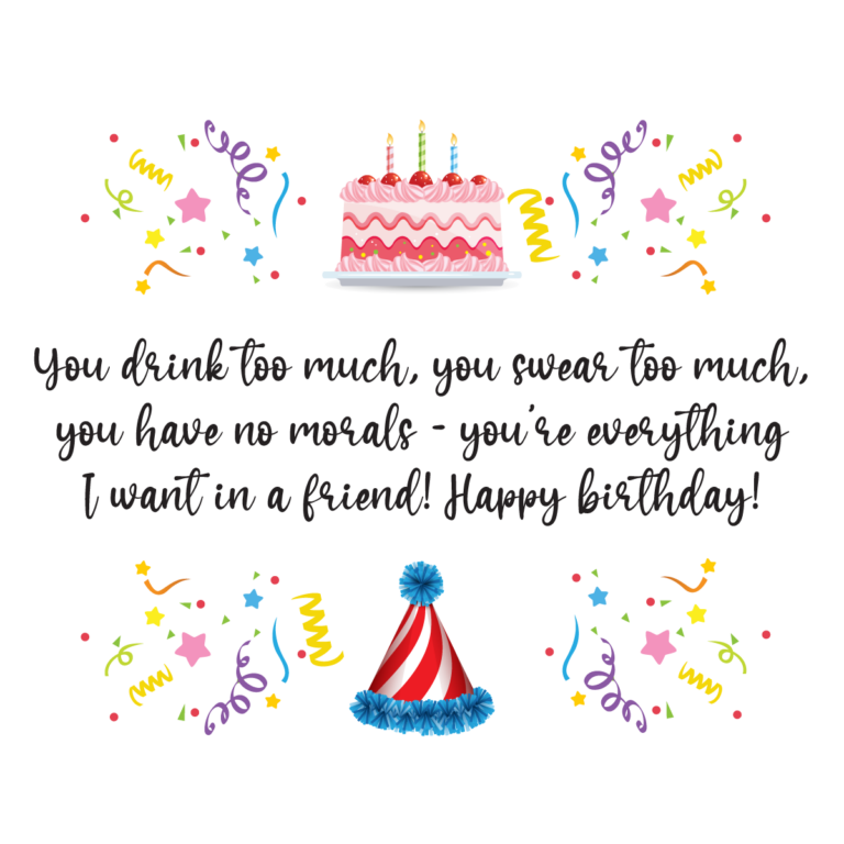 Heart Touching birthday message to a best friend png image