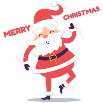 Santa claus merry christmas images