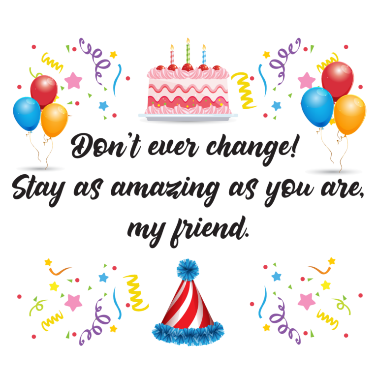 Touching birthday message to a best friend free png image download