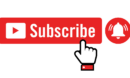 Youtube Red Subscribe Button Notification Bell And Hand Vector Colorpng free png image download