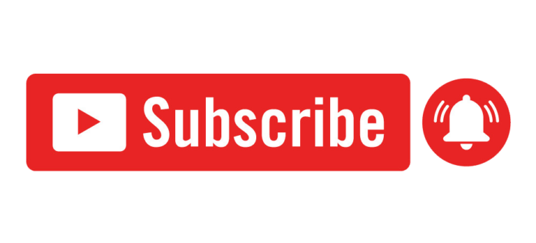 Youtube Red Subscribe Button With Notification Bell Vector Colorpng free png image download