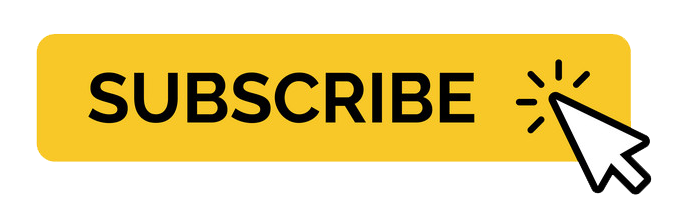 Youtube Subscribe Button With Mouse Cursor Minimal Yellow Vector Colorpng free png image download