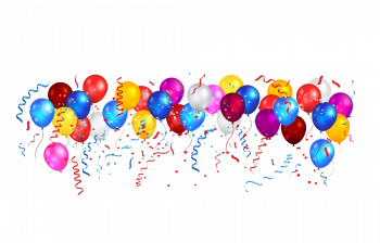 Balloons For Design Banner Vector Imgenes Png Wave Colorpng com