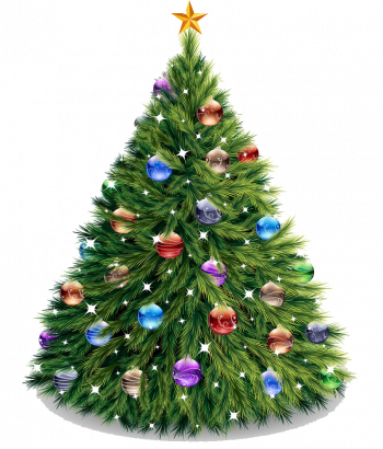 Christmas Tree Vector Imgenes Png Wave Colorpng com