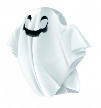 Ghost With Shadow And Transparency Happy Vector Colorpng png free download
