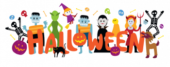 Group Of Halloween Monster Characters Vector Colorpng png free download