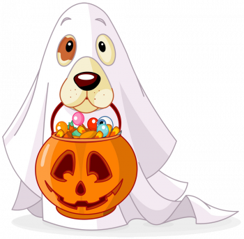 Halloween Dog Vector Colorpng png free download
