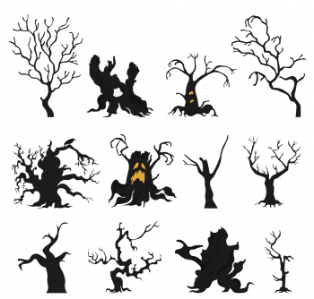 Halloween Holiday Info Graphic Elements Flat Vector Colorpng png free download
