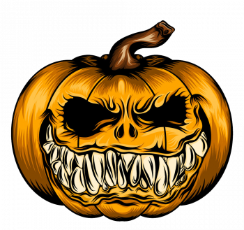 Scare Pumpkin For Halloween Season Vector Colorpng png free download